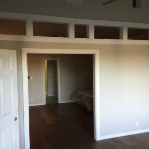 Austin Whole House Remodel Transom