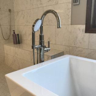 Bathroom Remodel Tub Filler