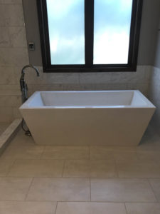 Bee Cave Bathroom Remodel Free Standing Tub