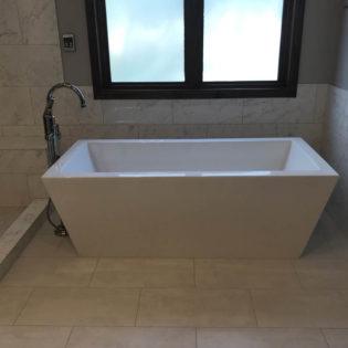 Bee Cave Bathroom Remodel Free Standing Tub