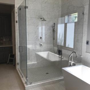Bee Cave Bathroom Remodel Large Shower