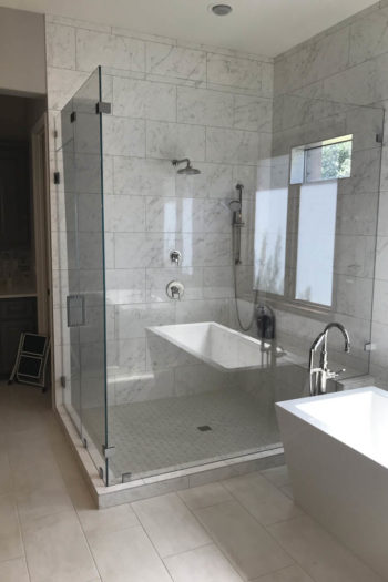 Bee Cave Bathroom Remodel Large Shower