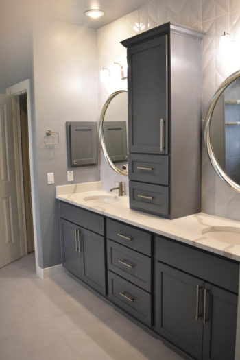Bee Cave Bathroom Remodeling Contemporary Traditional Vanity