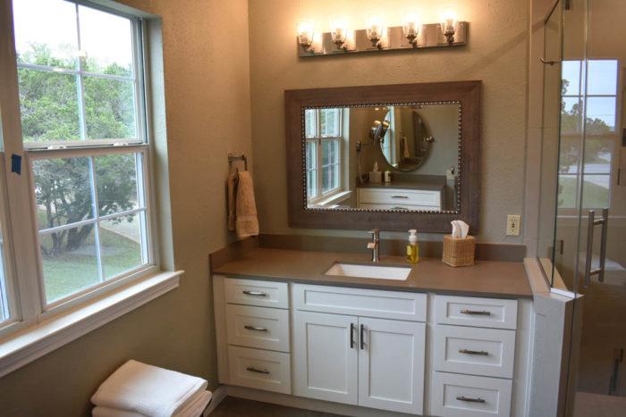 Dripping Springs Bathroom Remodel Custom Cabinets