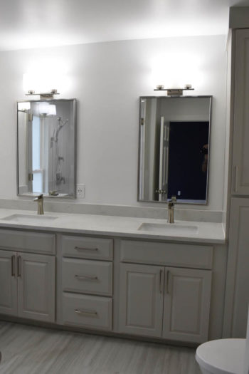 Lakeway Bathroom Remodel Contemporary