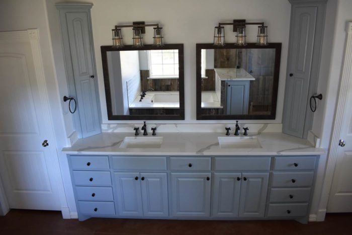 Spicewood Bathroom Remodel Country vanity