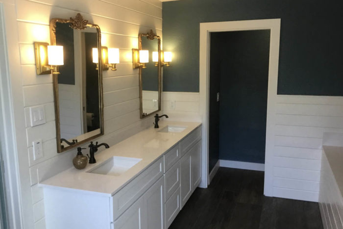 West Lake Hills Bathroom Remodel French Provincial