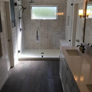Westlake Bathroom Remodel French Provincial Shower