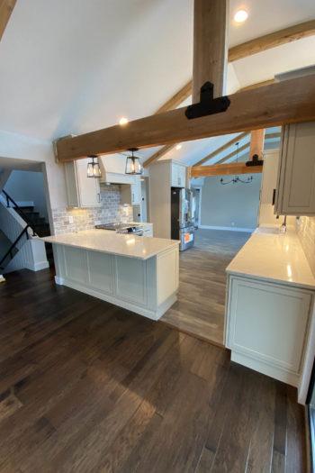 Home Remodeler in Lakeway with cedar beams