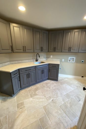 Home Remodeling in Lakeway with new laundry room cabinets
